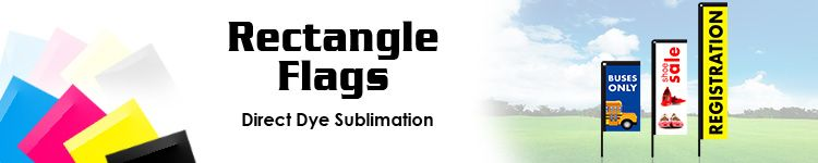 Rectangle Flags | SignLine.com