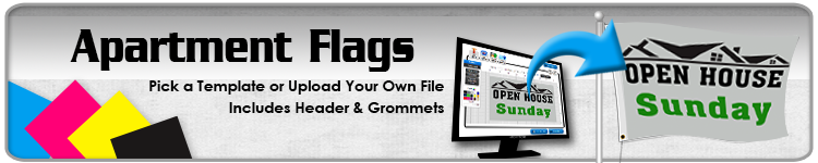 Apartment Flags - Order Custom Flags Online