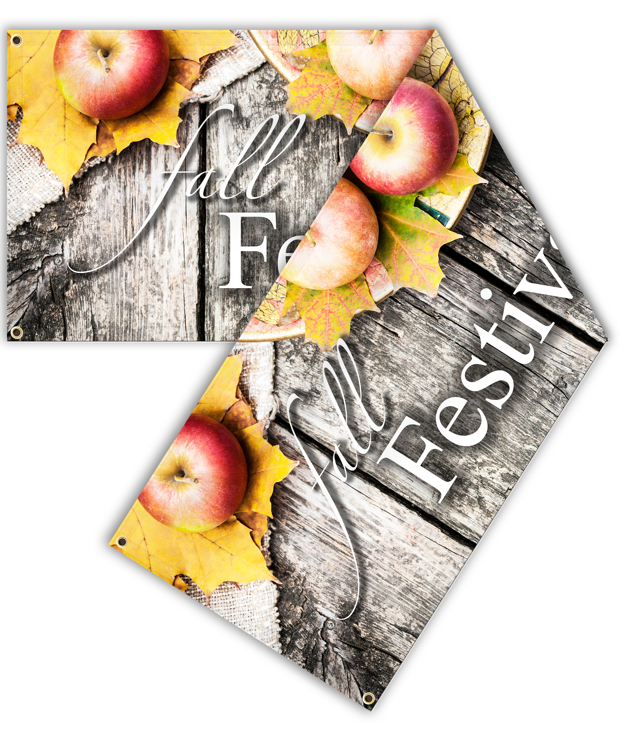 Fall Double Sided Banner | Signline.com