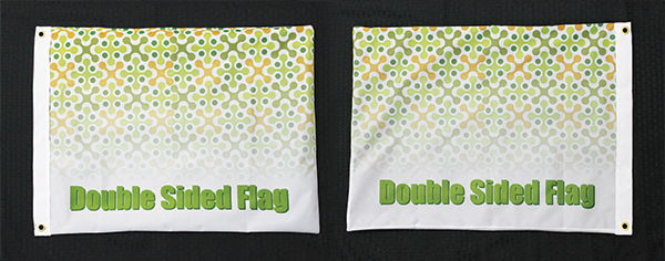 Double Sided Flags | Signline.com