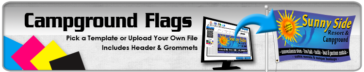 Campground Flags - Order Custom Flags Online