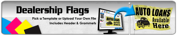 Dealership Flags - Order Custom Flags Online