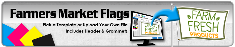 Farmers Market Flags - Order Custom Flags Online