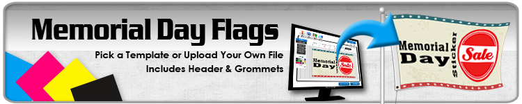Memorial Day Flags - Order Custom Flags Online