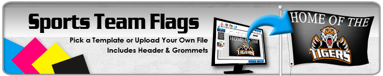 Sports Team Flags - Order Custom Flags Online