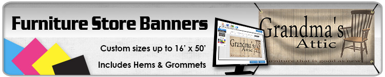 Furniture Store Banners - Order Custom Banners Online