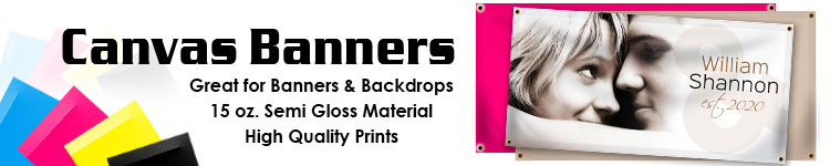 Custom Canvas Banners