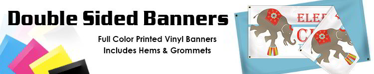 Double Sided Vinyl Banners | Signline.com