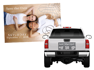 Magnetic Wedding Signage | Signline.com