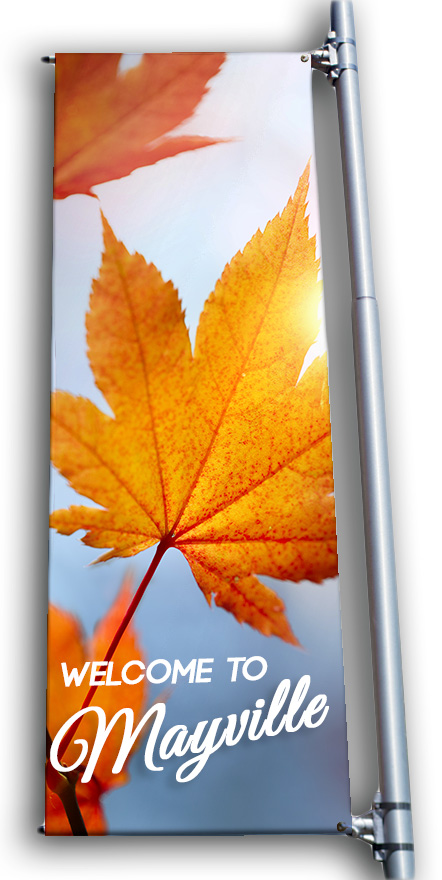 Fall Pole Banners | Signline.com