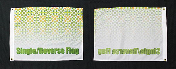 Single/Reverse Sided Flags | Signline.com