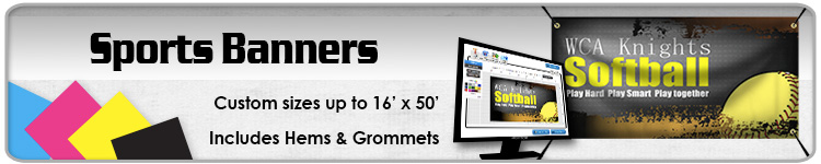 Sports Banners - Order Sports Banners Online