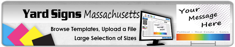 Advertising Yard Signs Massachusetts - Order Online