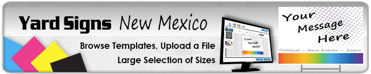 Advertising Yard Signs New Mexico- Order Online