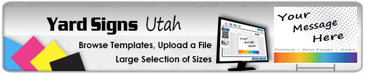 Advertising Yard Signs Utah- Order Online