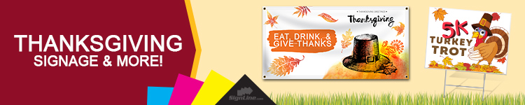 Thanksgiving Signage | Signline.com