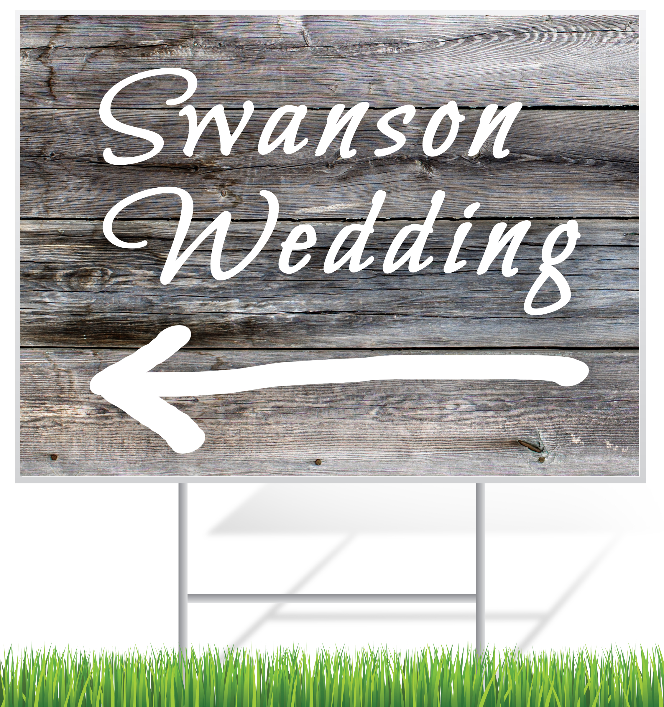 Wedding Yard Signs | Signline.com